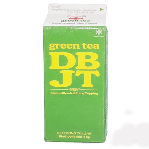 Kem topping trà xanh 1L