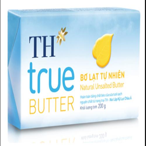 Bơ lạt tự nhiên TH True milk 200g