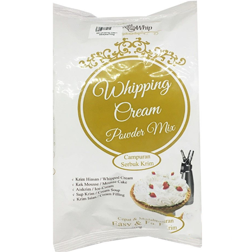 Bột whipping cream Malaysia 500g