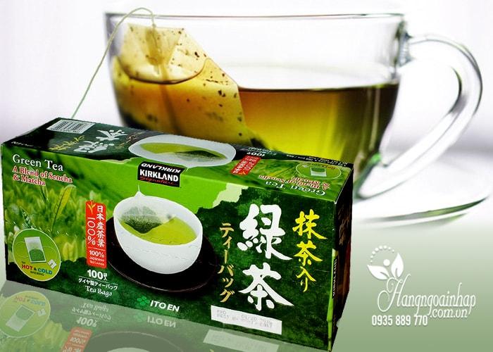 Trà xanh KirkLand Green Tea A Blend Of Sencha & Matcha