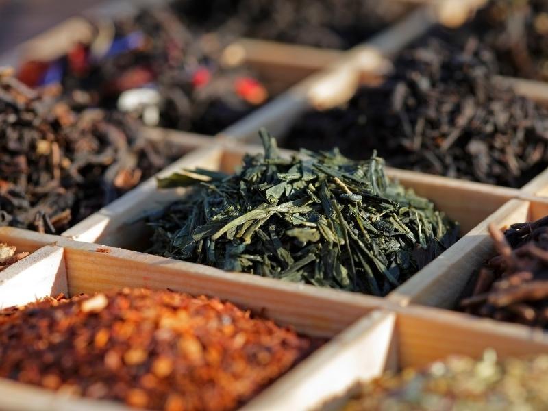Trà Sencha là loại trà lá phổ biến nhất của trà xanh Nhật