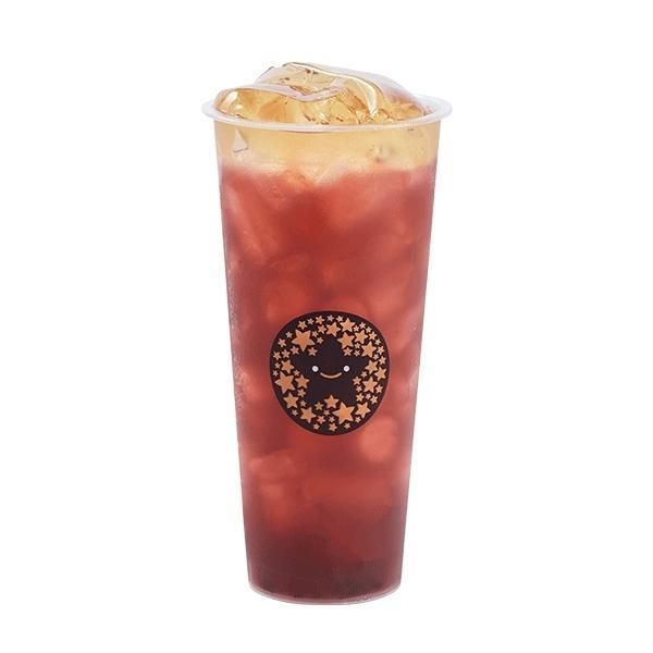 Hồng Trà Việt Quất nhìn ngon mà uống cũng ngon luôn đó