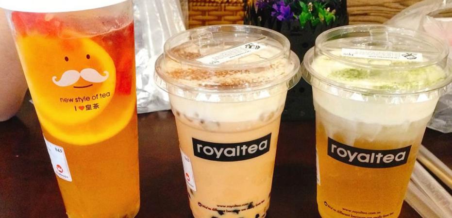 Ở royaltea thì món nước nào cũng là oke nha!