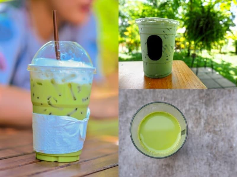 Tra sữa thái xanh