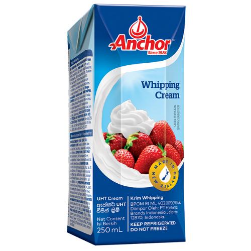 Whipping cream Anchor 250ml