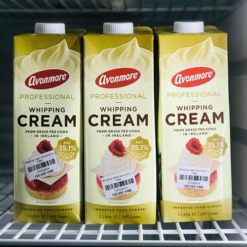Whipping cream Avonmore 1L