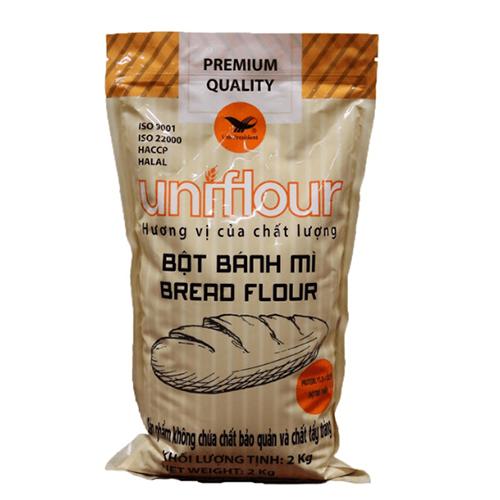Bột mì bánh mì Uniflour 2kg