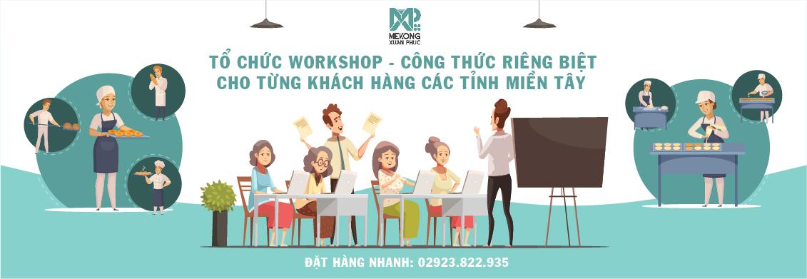 Workshop nguyên liệu pha chế