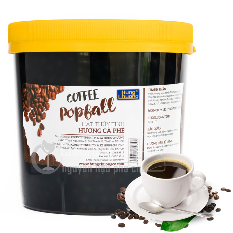 Thạch cafe 2,2kg/hủ