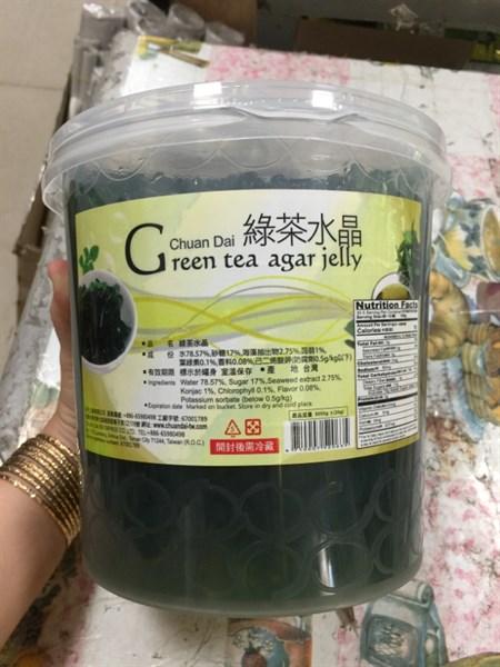 Hạt agar trà xanh 3.3kg