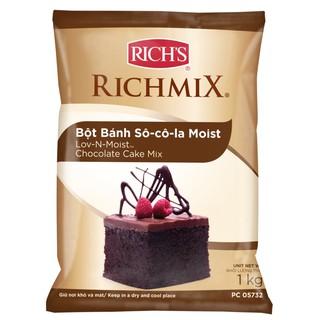 Bột bánh socola moist rich