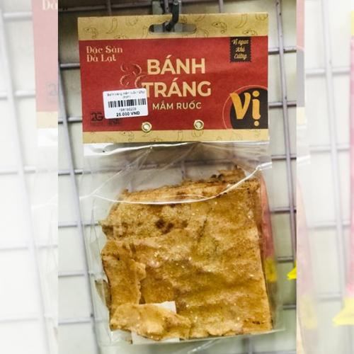 Bánh tráng mắm ruốc 125gr